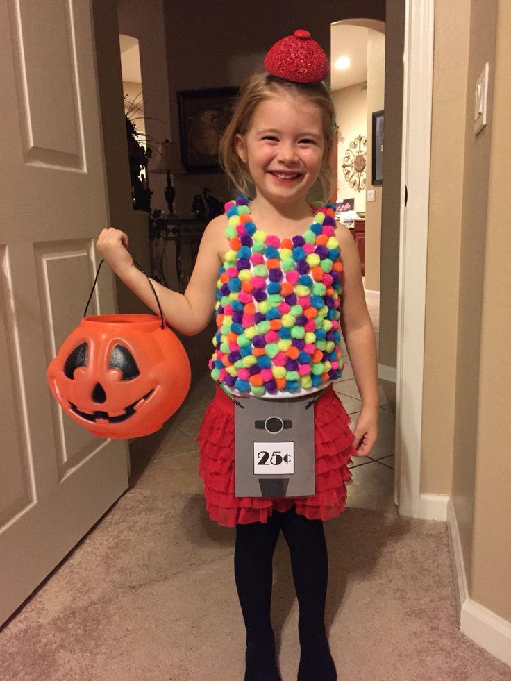 Gumball Machine Costume DIY  Halloween  Pinterest