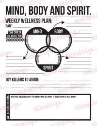 Mental Health Wellness Worksheets. Worksheets