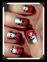 curated skull nail polish ideas