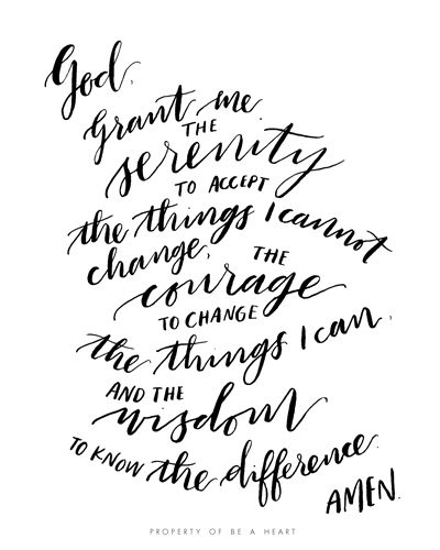 25+ best ideas about Serenity prayer on Pinterest