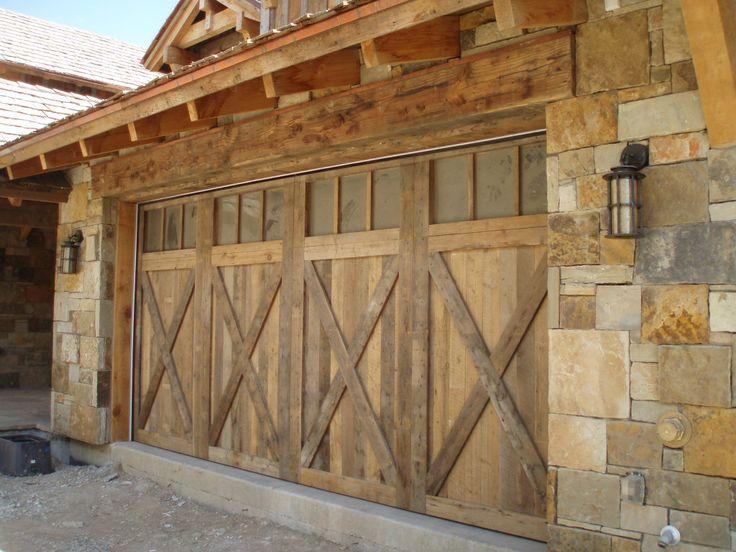 Rafter Stock Garage Door