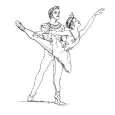 107 best images about Dance Coloring Pages on Pinterest