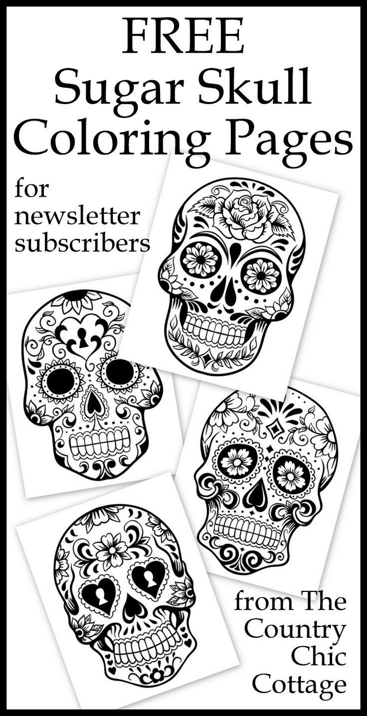 25+ best ideas about Sugar Skull Design on Pinterest