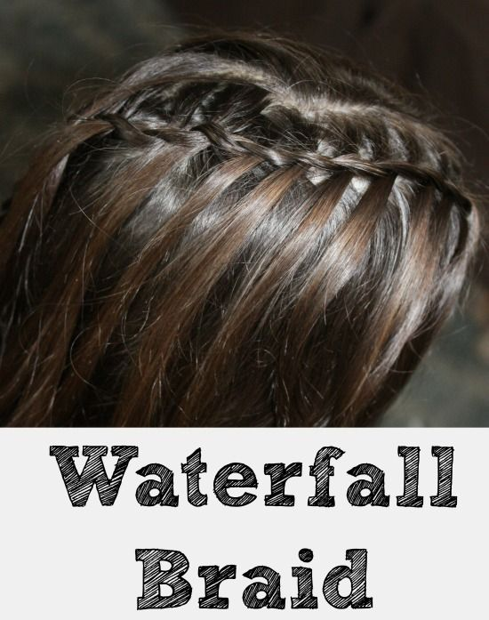 1000 Ideas About Fishtail Waterfall Braids On Pinterest