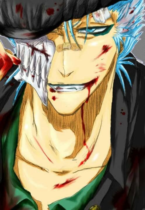 40 Best Images About Grimmjow Jaegerjaques On Pinterest
