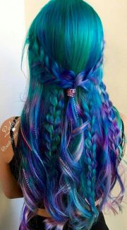 ideas mermaid hair