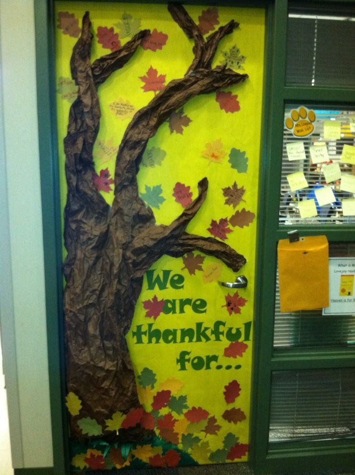 25+ best ideas about Thanksgiving Classroom Door on