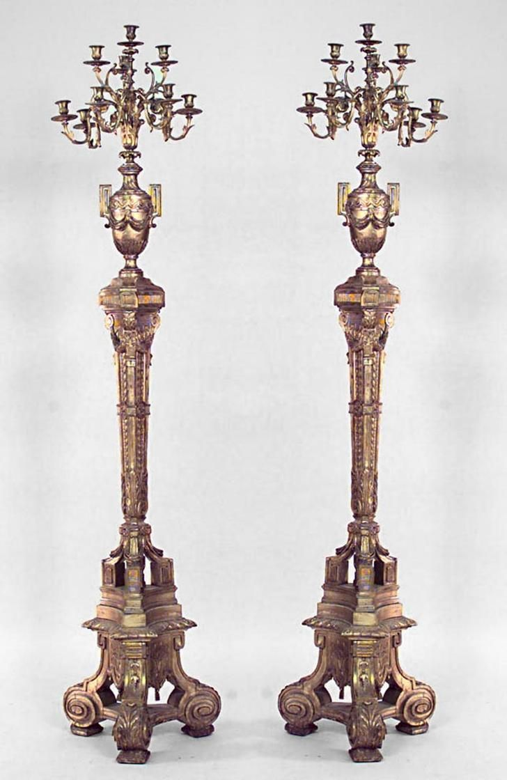 50 Best images about Floor Candlesticks on Pinterest