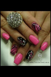 17 Best images about Sweet 16 nails on Pinterest