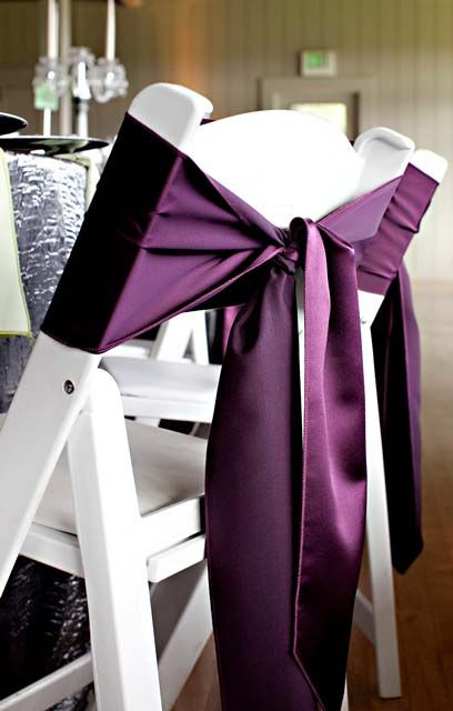 Best 20 Chair Ties ideas on Pinterest  Chair bows