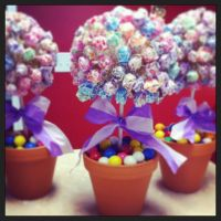 """Candy theme """"Sweet 16"""" table centerpieces!   Sweet 16 ..."""