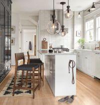 Best 25+ Narrow kitchen island ideas on Pinterest   Small ...