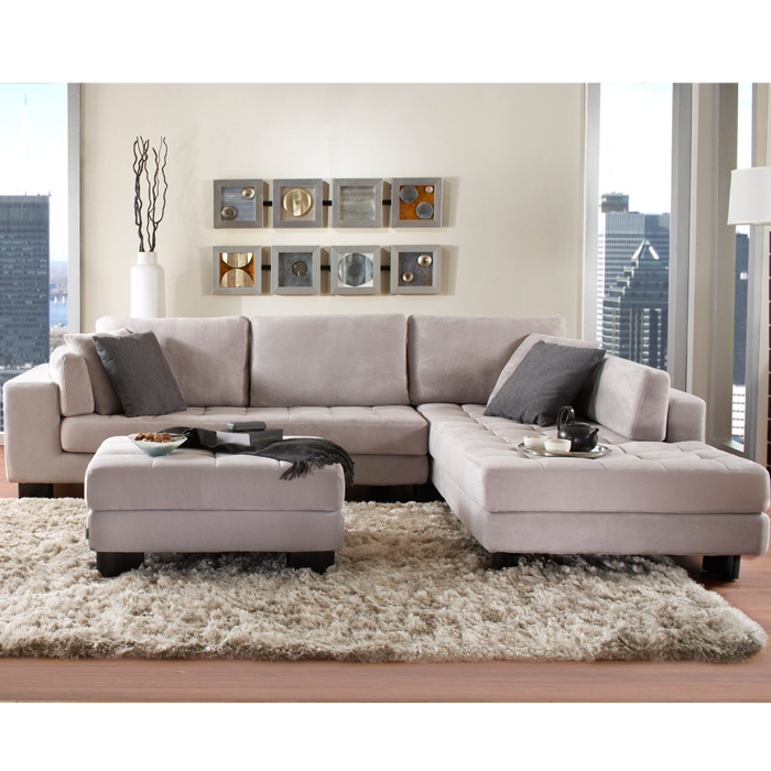 Vegas Fabric Sectional  Sectionals  Living Room  New