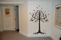 Lord of the Rings Tolkien Tree of Gondor Wall Decal ...