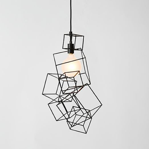 77 best images about WIRE & FRAME WORK LIGHTS on Pinterest