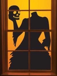 Best 25+ Halloween window silhouettes ideas only on ...