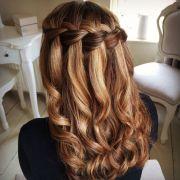 waterfall braids ideas