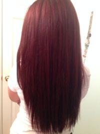 17 Best ideas about Black Cherry Hair on Pinterest | Black ...