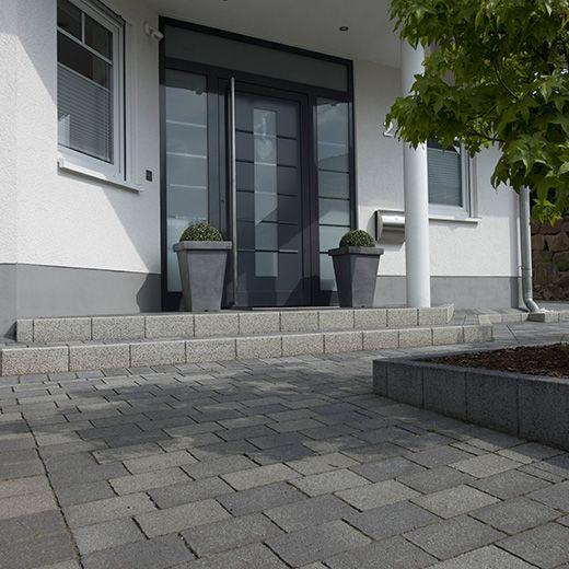 reihenhaus vorgarten pflastern | sichtschutz, Garten und bauen