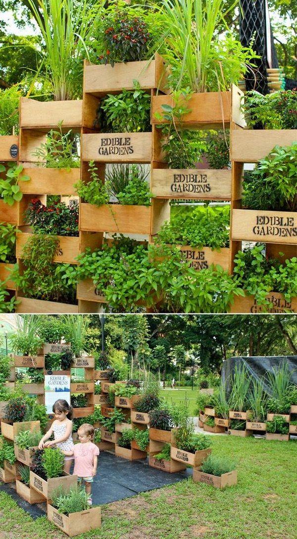 Die 25 Besten Ideen Zu Vertikale Gärten Auf Pinterest