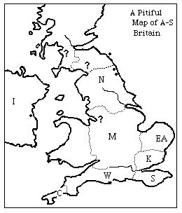 a pitiful map . . . A Map of Britain With the Seven
