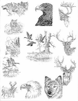 Wood Engraving: Free Wood Engraving Templates