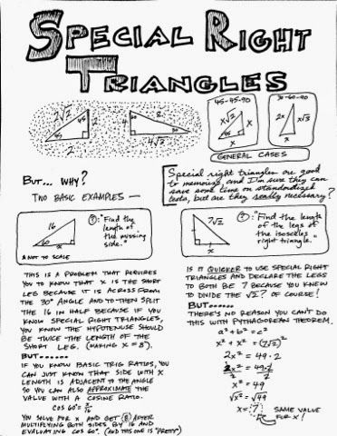 1000+ ideas about Special Right Triangle on Pinterest