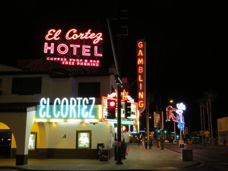 The legendary El Cortez hotel downtown  LAS VEGAS