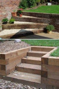 The 25+ best Garden stairs ideas on Pinterest | Landscape ...