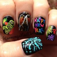 1000+ images about Happy New Year Nail Designs on ...