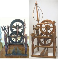 Connecticut chair wheels | A old spinning wheels made of ...