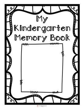 17 Best ideas about Kindergarten Memory Books on Pinterest