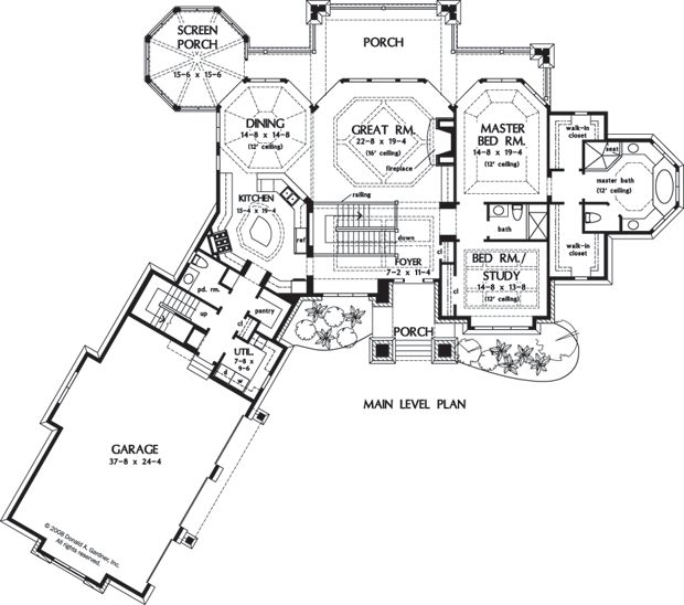 Great Room Floor Plans New Small Houses Floor Plans