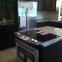 Crown Molding For Kitchen Cabinets Outdoor Supplies Espresso Maple Cabinetry With Luna Pearl Granite ...