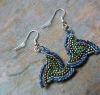 free seed bead earring patterns | ... just about be an ...