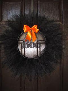 Portobello Road: DIY craft…Halloween Wreath