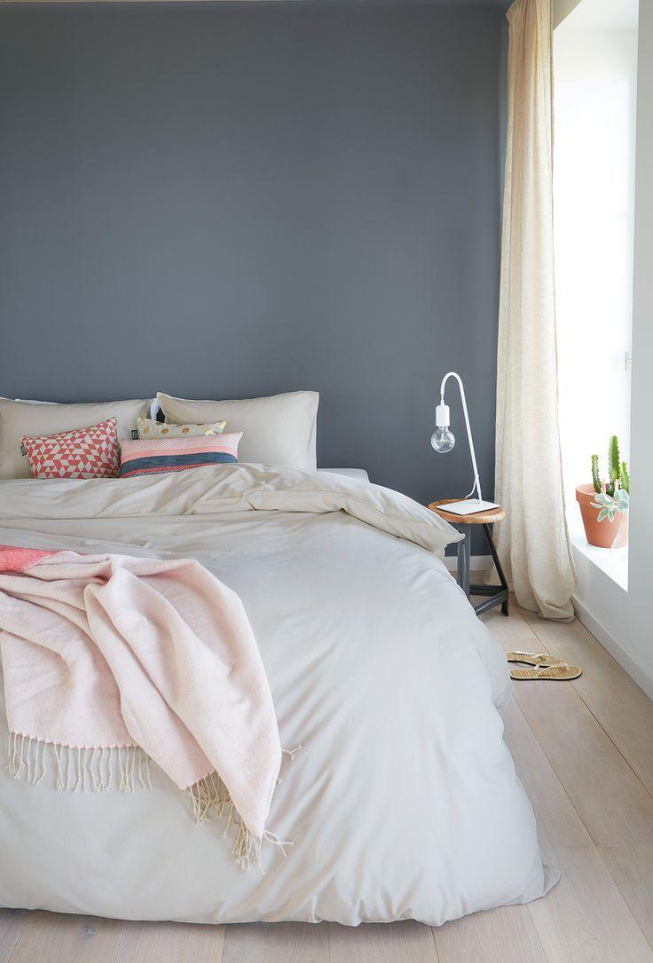 Die besten 20 Wandfarbe schlafzimmer Ideen auf Pinterest  Wandfarben wohnzimmer Grau blau