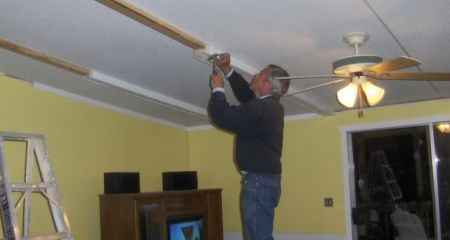Guide to Replacing a Mobile Home Ceiling