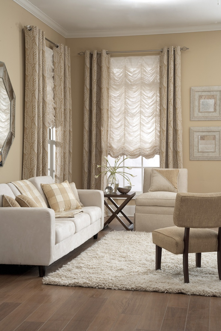 formal living room curtains ideas grey sofa 17 best images about window treatments on pinterest ...