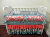 1000+ ideas about Custom Baby Bedding on Pinterest   Baby ...
