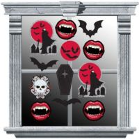 17 Best images about halloween Window Decorations party
