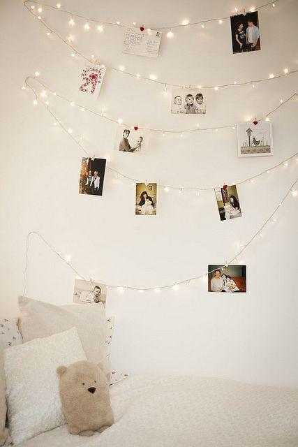 Guirnalda luminosa para fotos