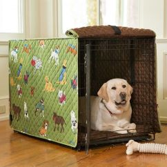 Camouflage Living Room Furniture Sofa Covers Doggone Good Time Dog Crate Cover | Your Dog's ...