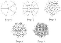 Penrose tiling construction | Mathematics | Pinterest ...