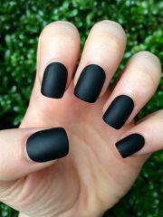 ideas black nail
