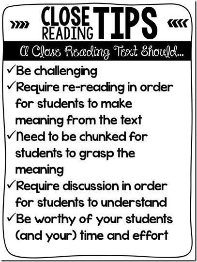 17 best images about kindergarten close reading on