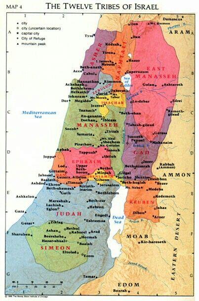 12 Israeli tribes Israel Pinterest Namaste The o