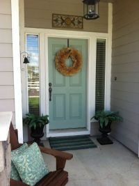 Benjamin Moore Wythe Blue {exterior front door color ...