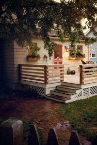25+ best ideas about Deck railing design on Pinterest ...