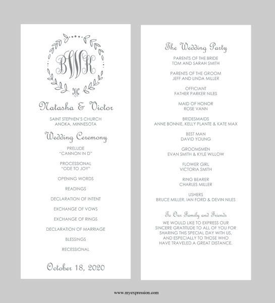 Best 25 Wedding program templates ideas on Pinterest  Fan wedding programs Program template